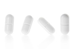 Medical pill tablet collection Stock Photo