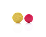 Medical pill tablet Stock Photos