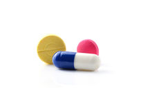 Medical pill tablet Royalty Free Stock Image