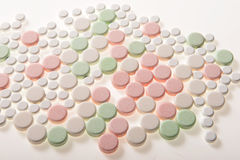 Medical pill tablets Royalty Free Stock Image