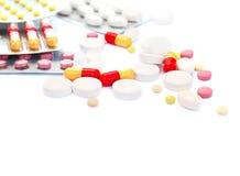 Medical pills Royalty Free Stock Photo