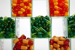 Medical pills Stock Images