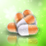 Medical pills Stock Photography
