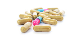 Medical  pills Royalty Free Stock Photography