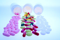 Medical pills Stock Photo