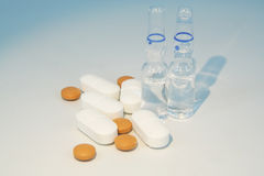 Medical pills Royalty Free Stock Images