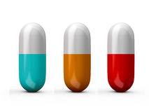 Medical Pills Stock Photo