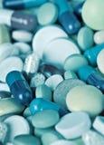 Medical pills close-up Stock Photography