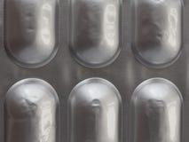 medical pills detail stock image