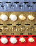 Medical pills pack Stock Photo