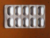 medical pills tablet detail stock images