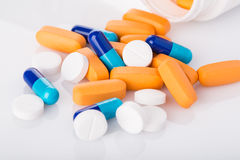 Medical pills Royalty Free Stock Photos