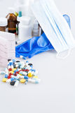 Medical preparations Stock Image