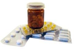 Medical preparations. Pharmaceutics. Royalty Free Stock Photo
