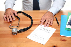 Medical Prescription Royalty Free Stock Photo