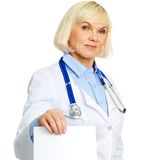 Medical prescription Royalty Free Stock Photos