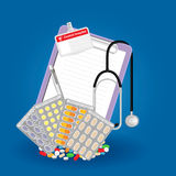 Medical prescription Royalty Free Stock Photography