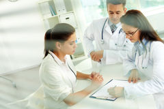 Medical prescriptions royalty free stock images