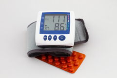 Blood pressure medicine Royalty Free Stock Photo