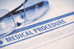 Medical Procedure. Medicine. 3D Illustration. Royalty Free Stock Photo