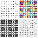 100 medical products icons set vector variant. 100 medical products icons set vector in 4 variant for any web design isolated on white Royalty Free Stock Photo