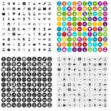 100 medical profession icons set vector variant. 100 medical profession icons set vector in 4 variant for any web design isolated on white Stock Photo