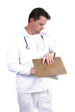 Medical Professional. Doctor, Nurse, Tech, Vet....You Name it stock photo