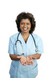 Medical Professional - In Good Hands Royalty Free Stock Image