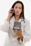 Medical Professional relating information Royalty Free Stock Photo