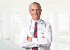 Medical Professional With Stethoscope Stock Photography
