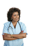 Medical Professional - Thoughtful Royalty Free Stock Images