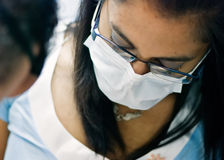 Medical professional at work Royalty Free Stock Photo