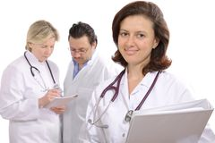 Medical professionals Stock Image