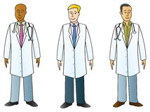 Medical Professionals In Labcoats Stock Photo