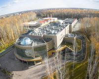 Medical radiological center, Tyumen, Russia Stock Images