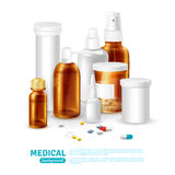 Medical Realistic Background Royalty Free Stock Photo