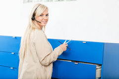 Medical Receptionist Stock Photography