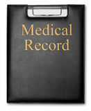 Medical Record royalty free stock images