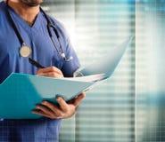 Medical record Stock Photos