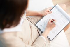 Medical record Stock Images