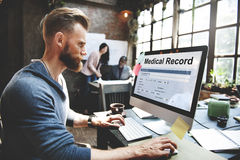 Medical Record Report Healthcare Document Concept Royalty Free Stock Images
