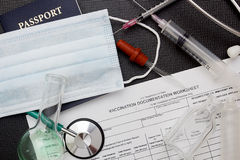 Medical records Stock Image