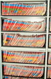 Medical Records folders. Royalty Free Stock Photography