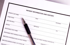 Medical records Royalty Free Stock Images