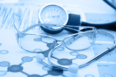 Medical report Stock Images