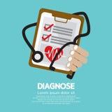 Medical Report royalty free illustration