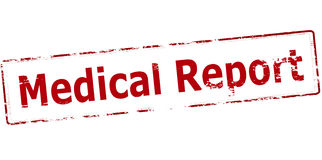 Medical report Royalty Free Stock Images