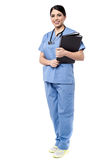 Medical reports for the patients. stock photography