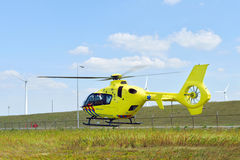 Medical rescue Helicopter Royalty Free Stock Photos
