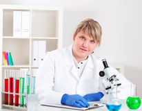 Medical research Royalty Free Stock Photo